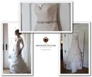 Wedding dress from Dana Point, Ritz Carlton, St. Regis wedding