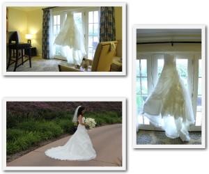 real wedding dress